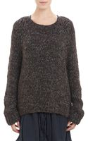 Pas De Calais Chunky Knit Oversize Sweater - Lyst