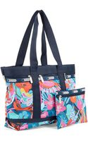 Lesportsac Plus Medium Printed Travel Tote Bag - Lyst