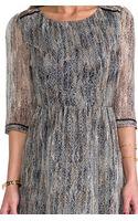 Ella Moss Hailey Dress in Gray - Lyst