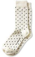 Banana Republic Dot Trouser Sock Cocoon - Lyst