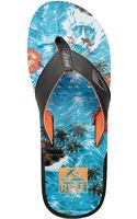 Reef Leather Thong Sandals - Lyst