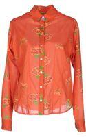 Lisa Corti Long Sleeve Shirt - Lyst