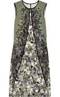 Bottega Veneta Embellished Stretchsilk Dress - Lyst