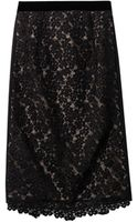 Erdem Marly Lace Pencil Skirt - Lyst
