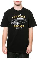 LRG The Life Style Deviant Tee - Lyst