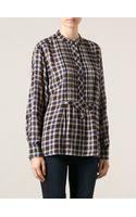 Etoile Isabel Marant Ives Flared Shirt - Lyst