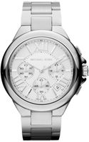 Michael Kors Womens Chronograph Camille Stainless Steel Bracelet 43mm - Lyst