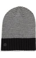 Vince Camuto Ministriped Knit Slouchy Beanie - Lyst