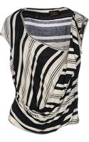 Vivienne Westwood Anglomania Sleeveless Sweater - Lyst