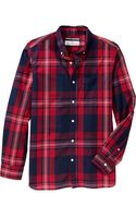 Old Navy Classic Regular-fit Shirts - Lyst