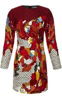 Sachin+babi Collection Long Sleeve Embroidered Dress - Lyst