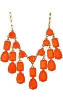 Kate Spade Riviera Garden Mini Bib Necklace - Lyst