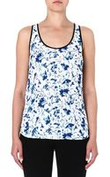 French Connection Floral Sleeveless Top Winter White Multi - Lyst