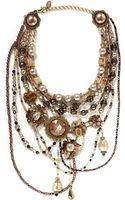 Erickson Beamon Stratosphere Multi Tier Necklace - Lyst