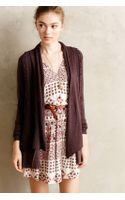 Knitted & Knotted Ismare Cabled Cardi - Lyst