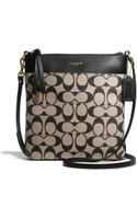 Coach Legacy Northsouth Swingpack in Printed Signature Fabric - Lyst