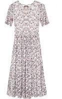 Pixie Market White Floral Lace Sheer Dress - Lyst