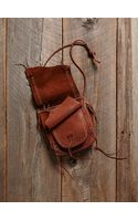Free People Vintage Hand Sewn Leather Bag - Lyst