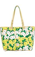 Dooney & Bourke Floral Coated Cotton Leisure Tote Bag - Lyst