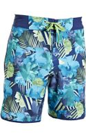Under Armour Middleton Floral Print Board Shorts - Lyst