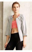 Adidas By Stella Mccartney Studio Zip Sweater - Lyst