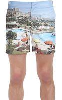 Orlebar Brown Bulldog Printed Swimming Shorts - Lyst