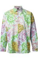 Versace Vintage Printed Shirt - Lyst