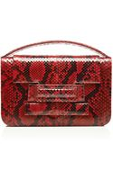 Metalskin Roulette Red Violet Clutch - Lyst