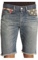 Denim & Supply Ralph Lauren Flag Pocket Denim Shorts - Lyst