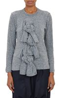 Comme Des Garçons Selfknot Pullover Sweater - Lyst