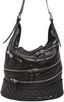 Giuseppe Zanotti Zipped Nappa Leather Shoulder Bag - Lyst
