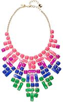 Kate Spade Skyline Glow Statement Necklace - Lyst