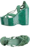 Ralph Lauren Collection Wedge - Lyst