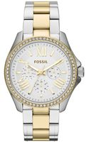 Fossil Womens Cecile Twotone Stainless Steel Bracelet Watch 40mm - Lyst
