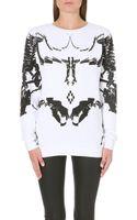 Marcelo Burlon Bones Sweatshirt - Lyst