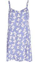 River Island Lilac Chelsea Girl Bird Print Dress - Lyst
