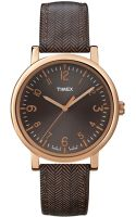 Timex® Womens Premium Originals Classic Brown Tweedpattern Leather Strap Watch 38mm T2p213ab - Lyst
