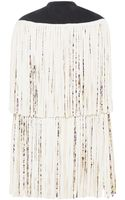 Giambattista Valli Fringed Cape - Lyst