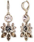 Givenchy Rhinestone Chandelier Earrings - Lyst