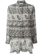 Thakoon Addition Printed Playsuit - Lyst