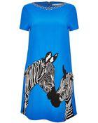 Alice + Olivia Lynn Embellished Shift Dress - Lyst