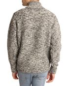 Woolrich Marl Grey Wool Sweater - Lyst