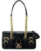 Ralph Lauren Ricky Gator Chain-Handle Bag - Lyst