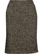 Zac Posen Tweed Skirt - Lyst