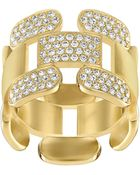 Swarovski Crystal Cube Ring - Lyst