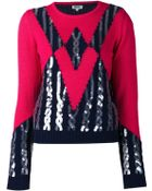 Kenzo Sequined Sweater - Lyst