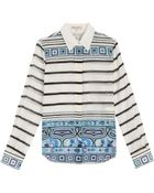 Emilio Pucci Cotton-Silk Printed Shirt - Lyst