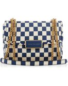 Marc By Marc Jacobs Rebel 24 Checkerboard-Print Shoulder Bag - Lyst