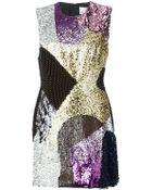 3.1 Phillip Lim Sequin Embellished Dress - Lyst