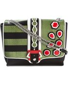 Paula Cademartori Alice Leather Shoulder Bag - Lyst